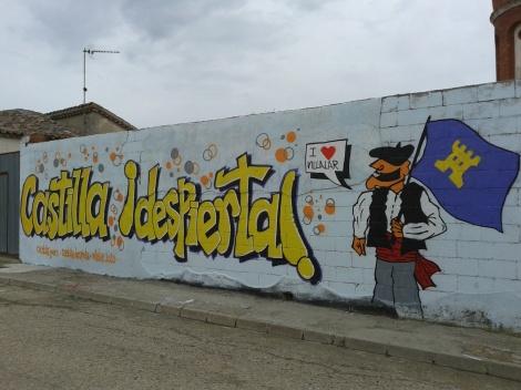 mural Castilla despierta